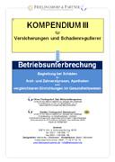 Kompendium Betriebsunterbrechungsschäden